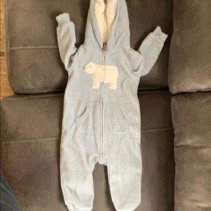 Winter body suit